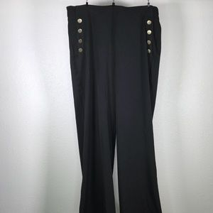 Eloquii Sailor Style Dress Pants
